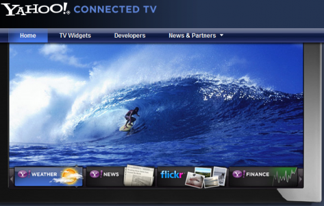 Yahoo tv widgets