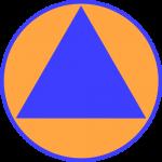 civilinės saugos ženklas iš wiki