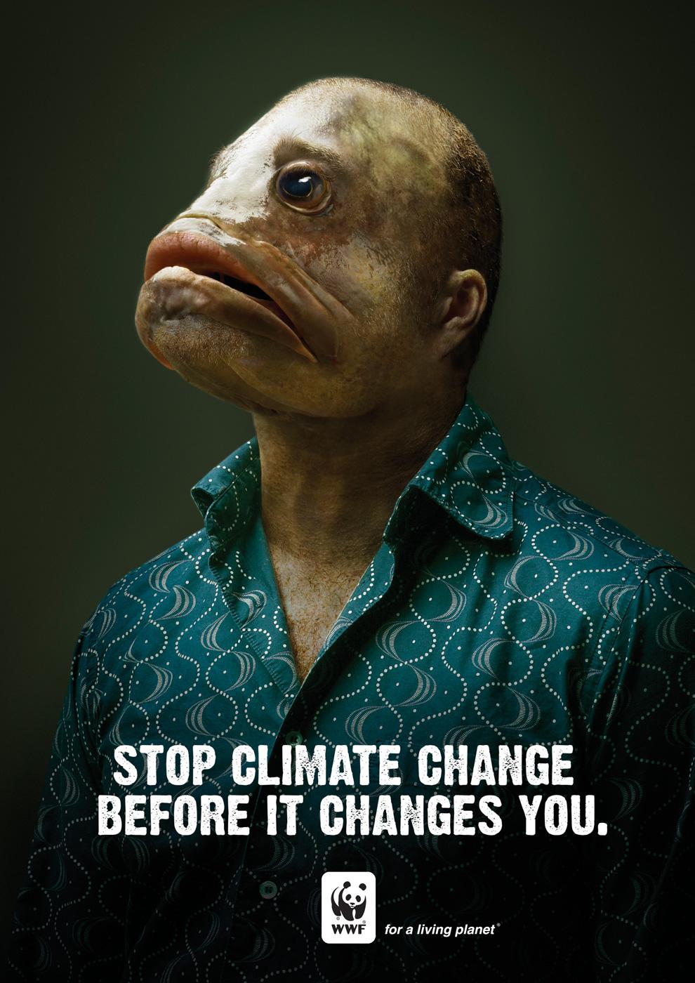 Sustabdyk klimato pokyčius, kol tai nepakeitė tavęs. WWF