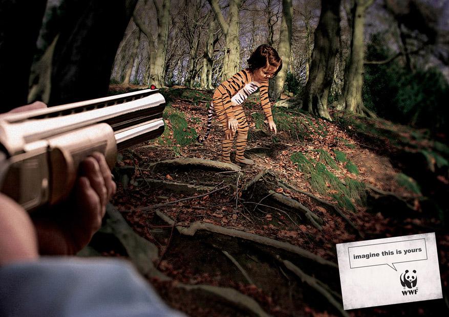 Įsivaizduok jog tai taviškis. WWF